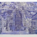 BATH ABBEY N ANGELIC PURPLE By Jerry  Di Falco
