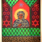 Black Madonna with Poem By Jerry  Di Falco