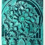CHARTRES WINDOW EMERALD AT NORTH By Jerry  Di Falco