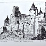 CUITAT DE CARCASSONNE By Jerry  Di Falco