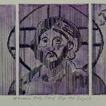 HAVANA HOLY CARD HIP OP IN PURPLE By Jerry  Di Falco