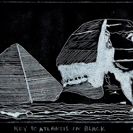 KEY TO ATLANTIS IN BLACK By Jerry  Di Falco