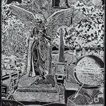 Laurel Hill Black Angel By Jerry  Di Falco