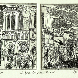 NOTRE DAME IN PARIS  By Jerry  Di Falco