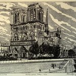 Notre Dame In Paris 1890, Jerry  Di Falco