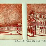 Orange Pisa In Six Views, Jerry  Di Falco