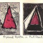 Pyramidal Equation in Shocking Pink By Jerry  Di Falco