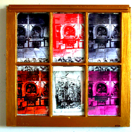 REMEMBRANCE WINDOW TO THE HOLOCAUST   By Jerry  Di Falco