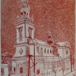 SAINT JOSEPHS POLISH CHURCH IN CAMDEN NEW JERSEY By Jerry  Di Falco