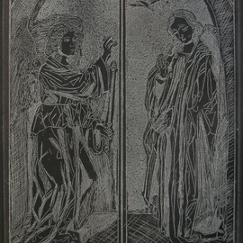 THE BLACK ANNUNCIATION By Jerry  Di Falco