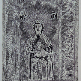 UNIVERSAL MOTHER WITH SYMBOLS