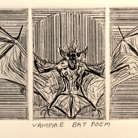 Vampire Bat Poem  By Jerry  Di Falco