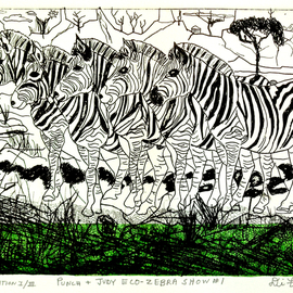 Zebra Show Number One  By Jerry  Di Falco