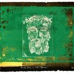 christ face in thin space By Jerry  Di Falco