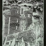 lioncourt chateau in silver By Jerry  Di Falco