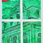 new orleans emerald window By Jerry  Di Falco