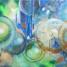 Planets and Bubbles By German Bustamante