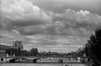 German Guerra: 'OPUSPR0290', 2012 Black and White Photograph, Cityscape. Artist Description:  PARIS CITY ...