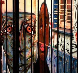 German Guerra: 'grf0800', 2018 Digital Photograph, Graffiti. Artist Description: Urban Street...