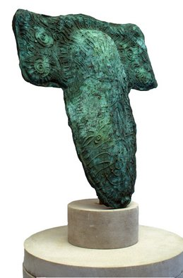 Bronze Sculpture by Gerry Griffin titled: Celtic Image, 2010