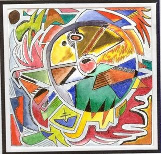 Artist: Giorgia Giulianelli - Title: one of three - Medium: Watercolor - Year: 2007