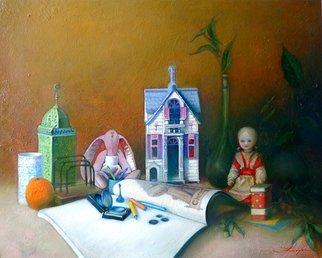 Artist: Ghenadie Sontu - Title: A girl story - Medium: Oil Painting - Year: 2014