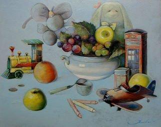 Artist: Ghenadie Sontu - Title: The Brothers story - Medium: Oil Painting - Year: 2014