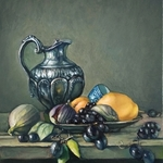 still life with fruits By George Grant