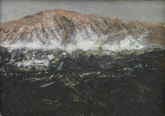 Andreas Legath: 'Vulcano', 2010 Oil Painting, Farm.