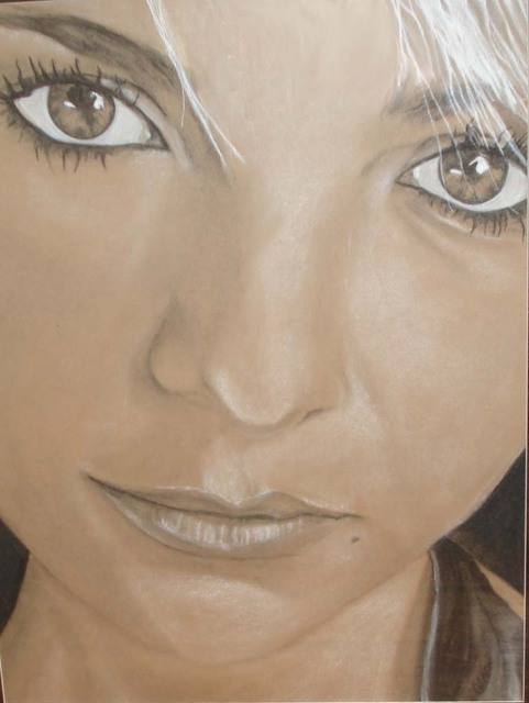Artist Gina Shelley. 'Amanda' Artwork Image, Created in 2007, Original Painting Oil. #art #artist