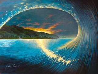 Steven Power: 'DAYSTAR', 2015 Acrylic Painting, Seascape.                                           SURF FANTASY                                   ...