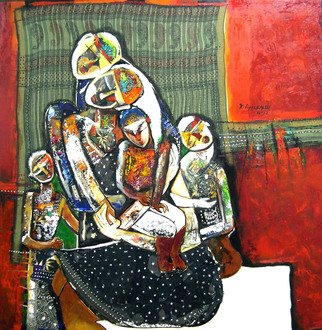 Gnana Ponnusamy: 'team of love', 2012 Other Painting, Love. Artist Description: Team of Love is painted by P. Gnana in 2012. ...