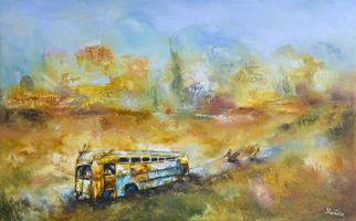 Artist: Areshidze George - Title: Second life - Medium: Oil Painting - Year: 2014