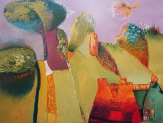 Artist: Areshidze George - Title: Vitamins - Medium: Oil Painting - Year: 2014