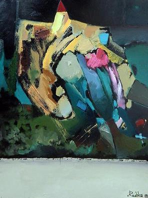 Artist: Areshidze George - Title: castle - Medium: Oil Painting - Year: 2013