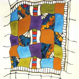 Rosemary Golcher Artwork Hilando Textiles, 2006 Other Painting, Abstract