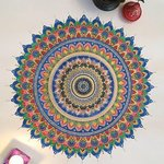 Colors of Life Mandala By Rabina Byanjankar Shakya