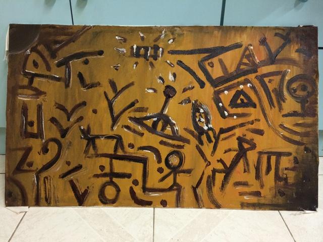6af0647bd0e Eason Chan Artwork  Abstract Oil Ufo