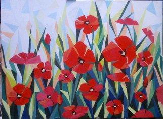 Artist: Gordana Pogledic Jancetic - Title: poppies - Medium: Oil Painting - Year: 2013