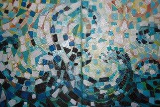 Artist: Gordana Pogledic Jancetic - Title: waves - Medium: Oil Painting - Year: 2013