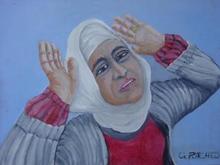 - artwork Desolete_Waman-1053323018.jpg - 2002, Painting Oil, Figurative