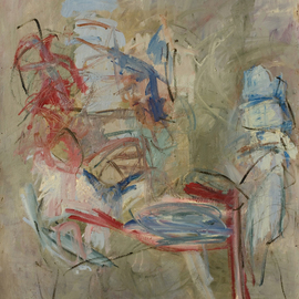 Marcia Freedman: 'Arachne', 2006 Oil Painting, Abstract Figurative. Artist Description:  Arachne is a painting on paper.  It references the figure. ...