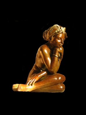 Bronze Sculpture by Frederic Clerc-renaud titled: Diadora, created in 2010