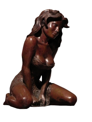 Bronze Sculpture by Frederic Clerc-renaud titled: Oxalia, 2010