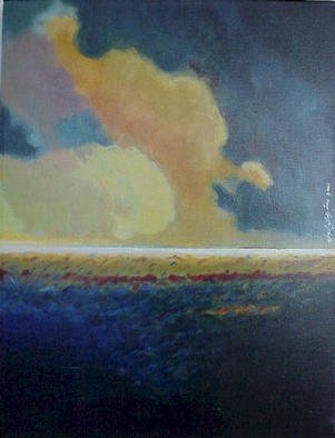 Angel Alejandro Artwork Horizon I, 2002 Acrylic Painting, Seascape