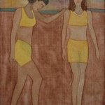 Las Amigas de la Playa No2 By Gary Richard D.