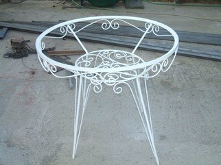 Stavros Tosios: 'Garden Table', 2008 Steel Sculpture, Landscape.  Garden Table i can make it in many sizes and colors ...
