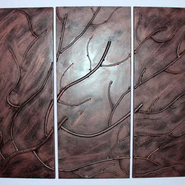 metal art 3 panel By Stavros Tosios