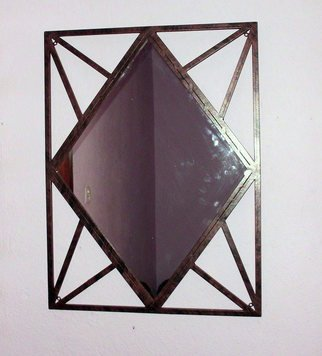 Stavros Tosios Artwork wall mirror, 2013 Metalsmith, Abstract