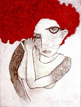 - artwork Girl_with_Red_Hair-1305727129.jpg - 2011, Painting Oil, undecided